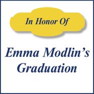 Emma Modlin's Grad