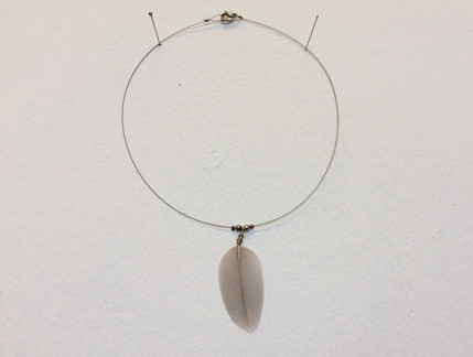 Dove & Silver necklace