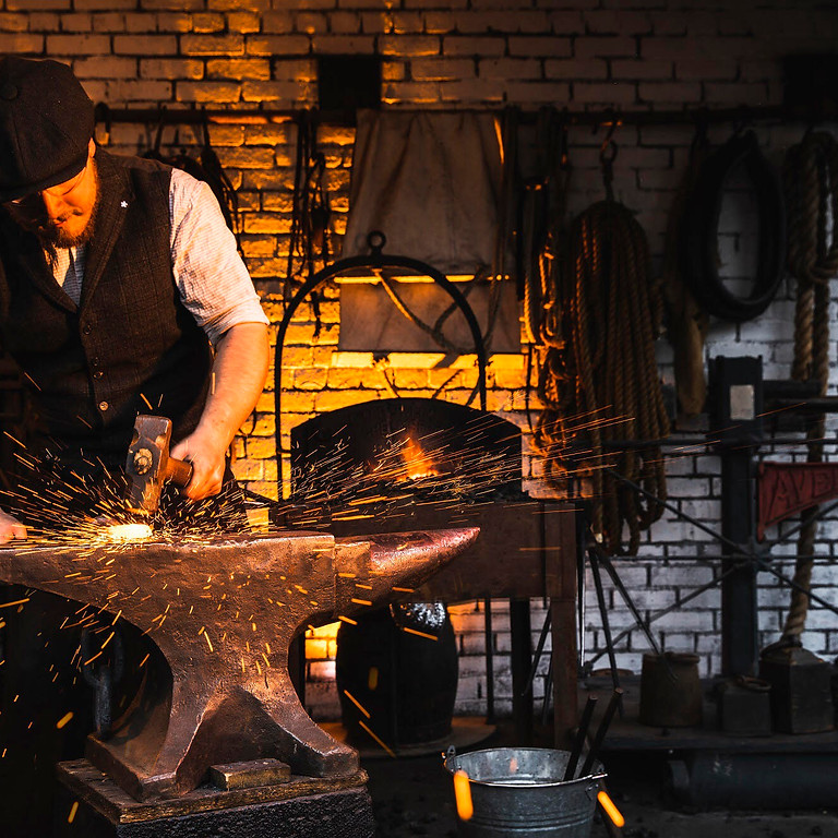 Introduction to Blacksmithing Course 28th october 2021