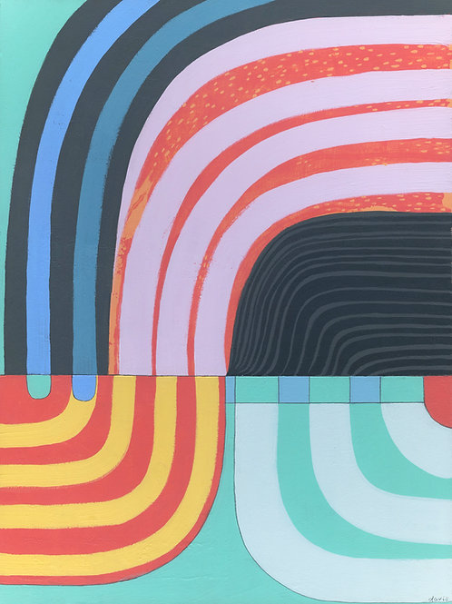 """On Exhibit Now at Wellness Mpls - """"Stripes"""""""