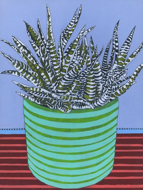 """Stripe Plant"" Original Painting"
