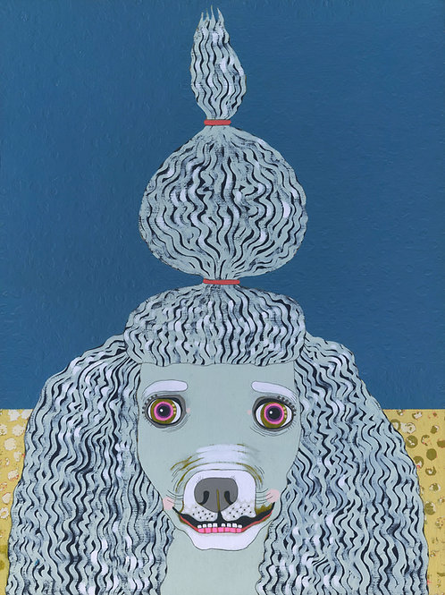 """Poodle"" Original Painting"