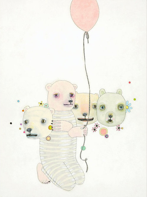"""Juggling"" Limited Edition Print"