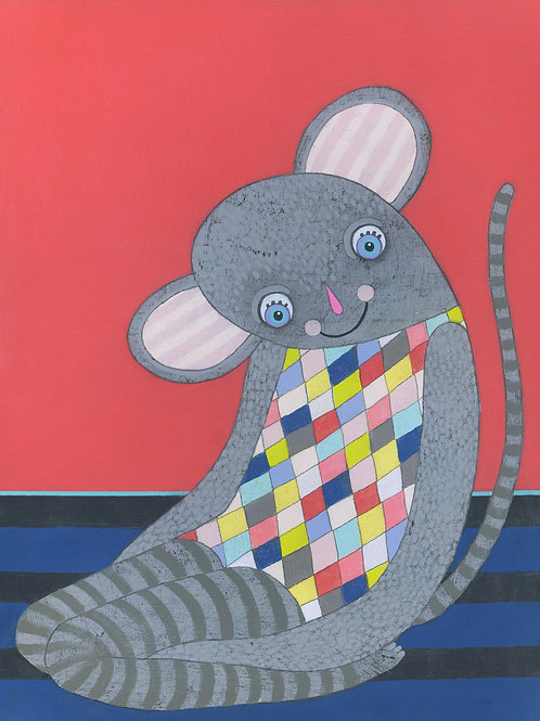 """Mouse"" Original Painting"