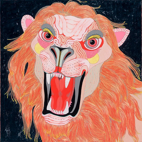 """""""Lion"""" Large Limited Edition Print"""