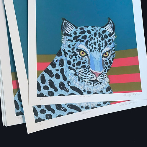 """Leopard"" Limited Edition Print"