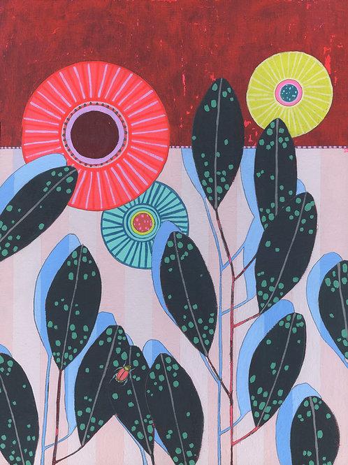 """Flora"" Original Painting"