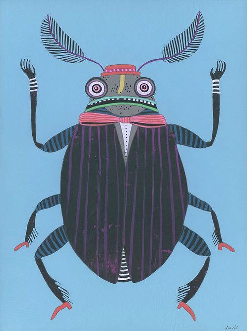 """""""Bug"""" Original Painting"""