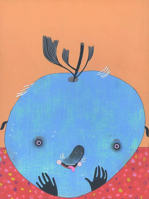 """Blueberry"" Original Painting"