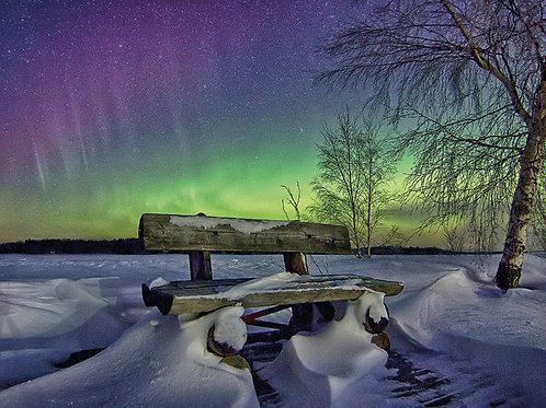 Northern Lights Postcard 6-pack
