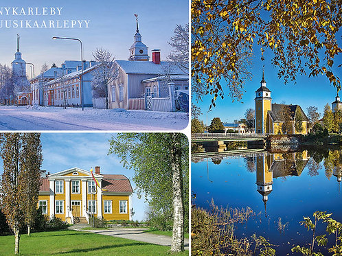 Nykarleby Postcard, 6-pack