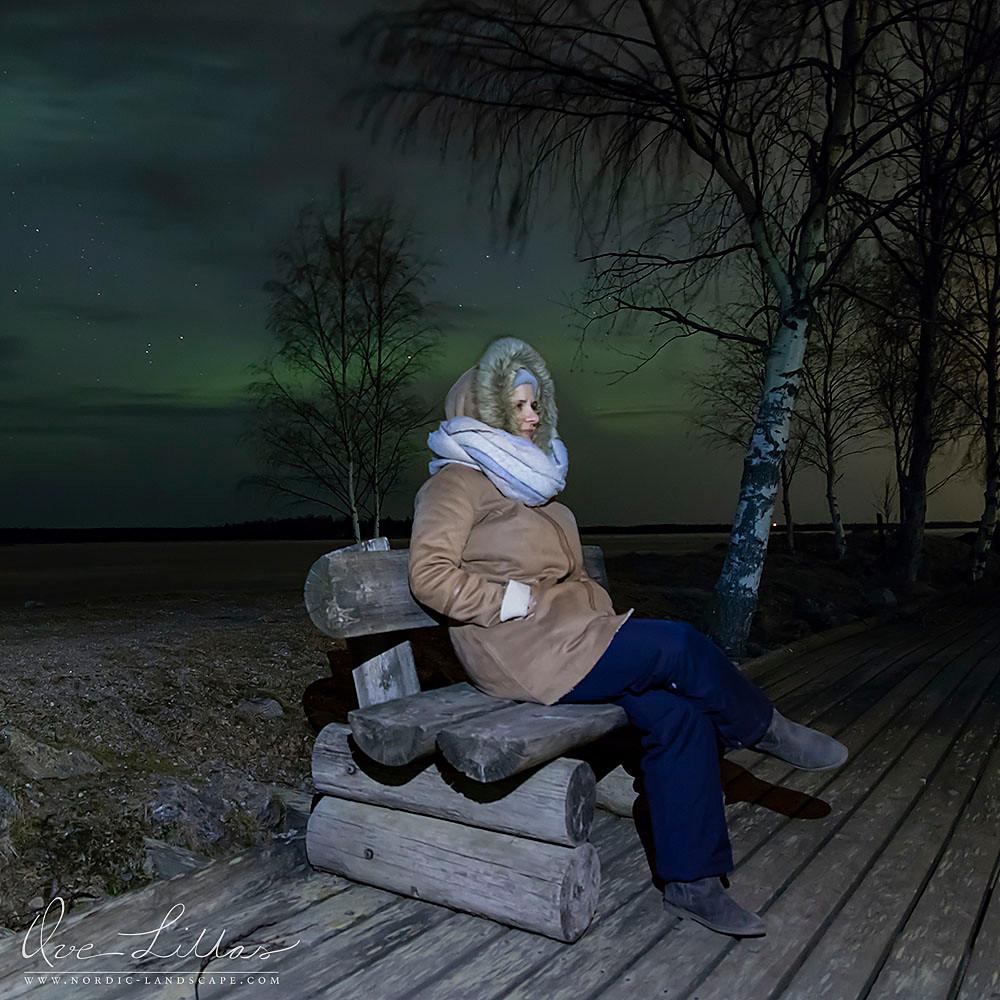 Waiting for the Aurora Borealis