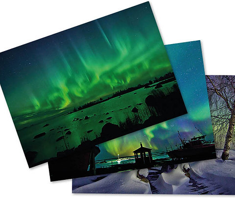 Northern Lights Postcard Suite