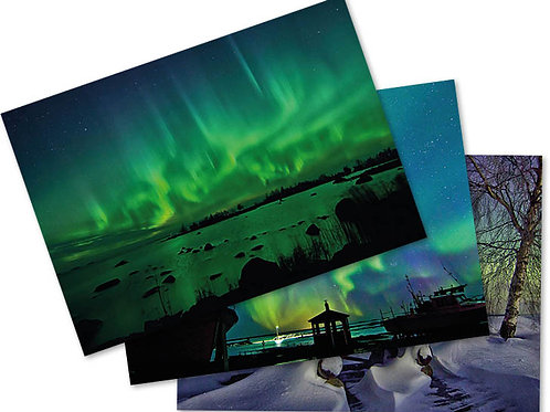 Northern Lights Postcard Suite