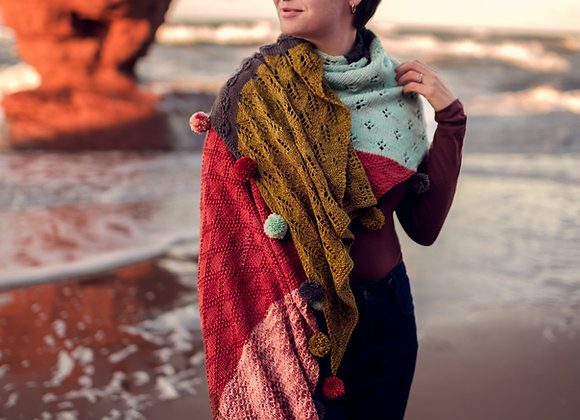 Singing Sands Shawl