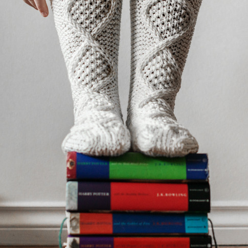 Cozy Cable Slippers