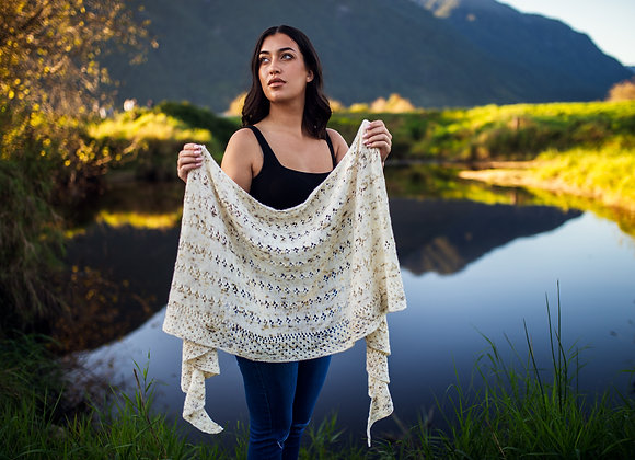 Peppered Shawl