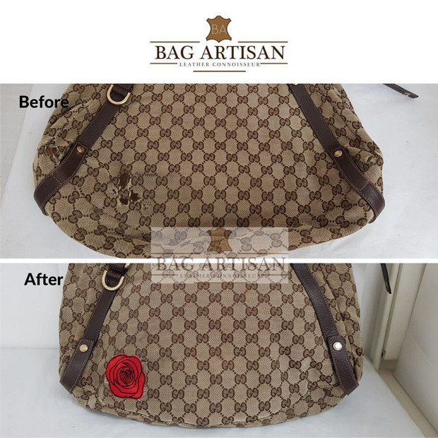 Bag Hole Repair & Patchwork