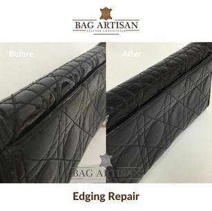 Wallet Edging Repair