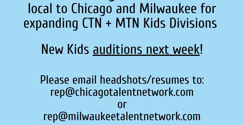 Calling All: KIDS!