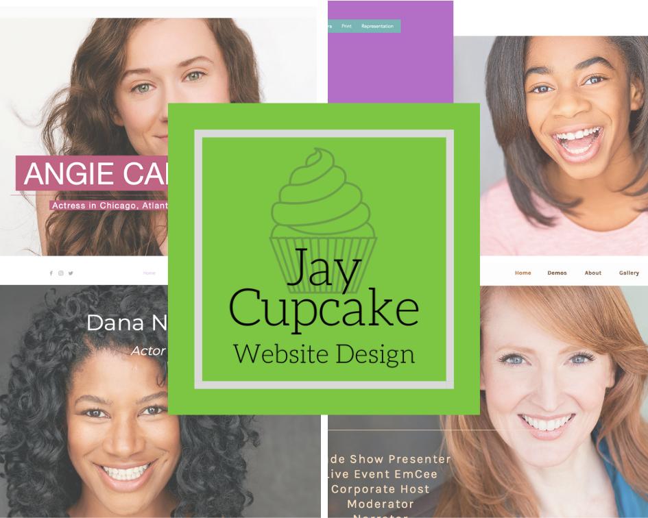 Jay Cupcake Website Design logo