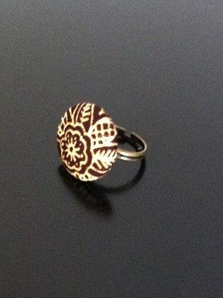 Ring  - Bague fleur