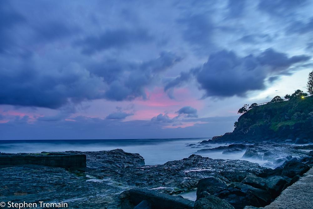 Sunrise at Snapper Rocks