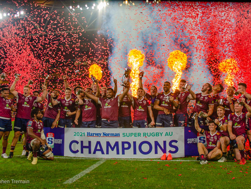 Queensland Reds are 2021 Super Rugby AU Champions