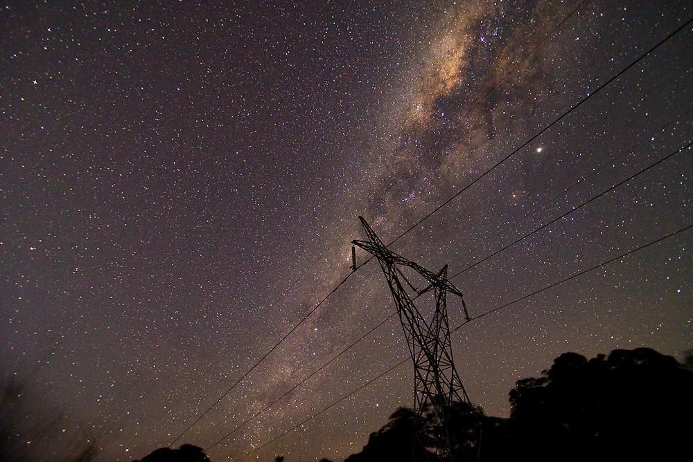 Clagiraba Power Lines (16mm, f/2.8, 15 sec, ISO 1250)