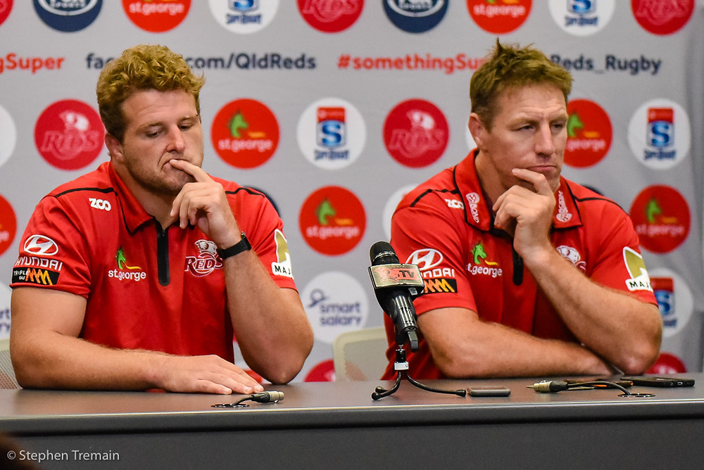 James Slipper and Brad THorn press conference