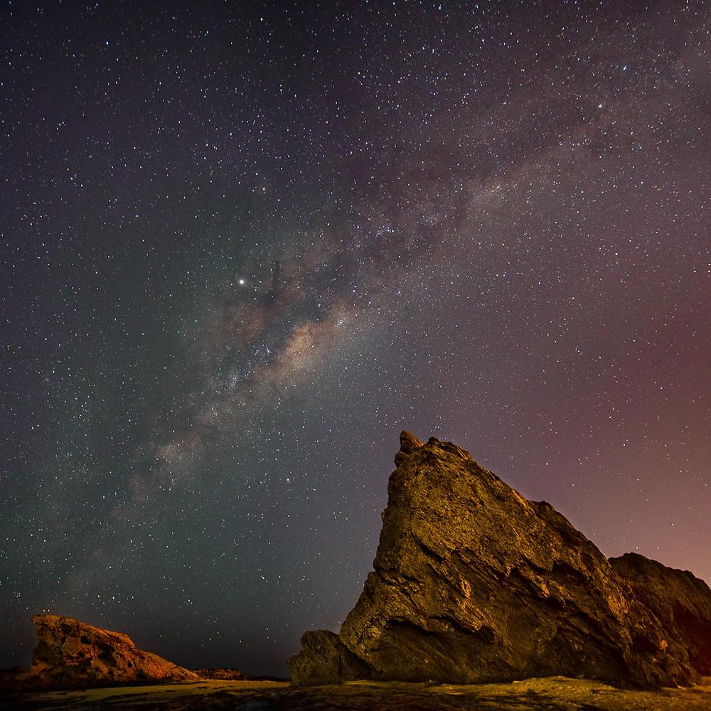 Currumbin Beach Milky Way (16mm, f/2.8, 20 sec, ISO1250)