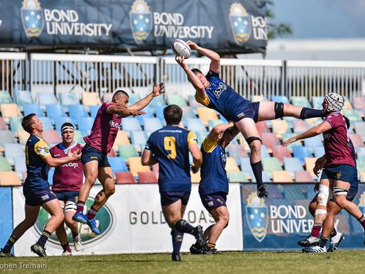 QLD Premier Rugby - Bond Uni v Uni of QLD - 2nd Grade