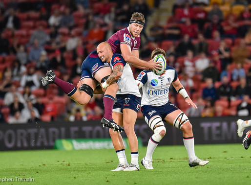 Super Rugby - Reds v Rebels
