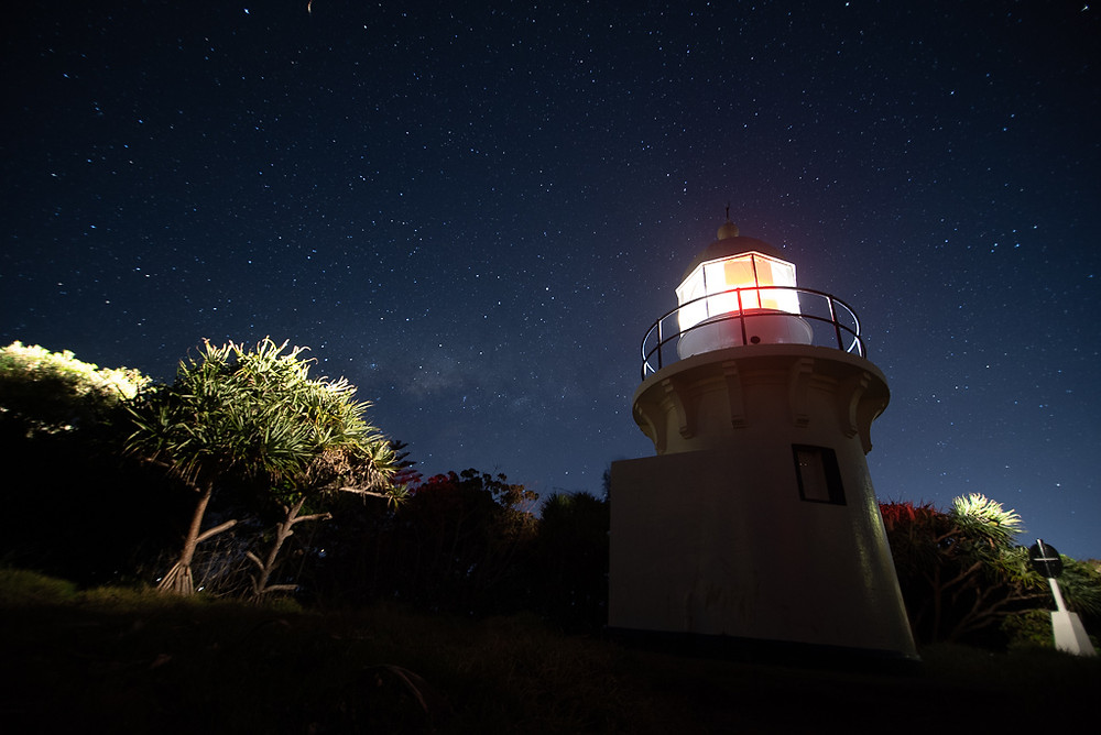 Fingal Head Lighthouse (16mm, f/2.8, 10 sec, ISO 1250)