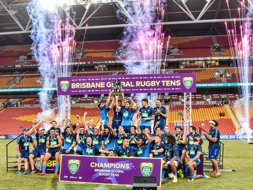 Auckland Blues Win 2018 Brisbane Tens
