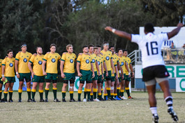 Aussie U20s during Fijian Cibi