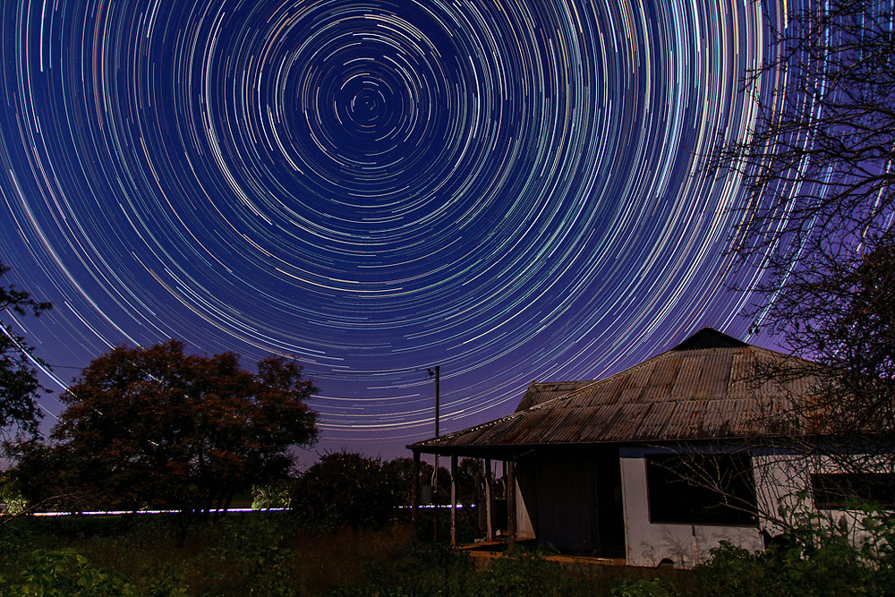 Yeoval Star Trails - Old Bringalong House