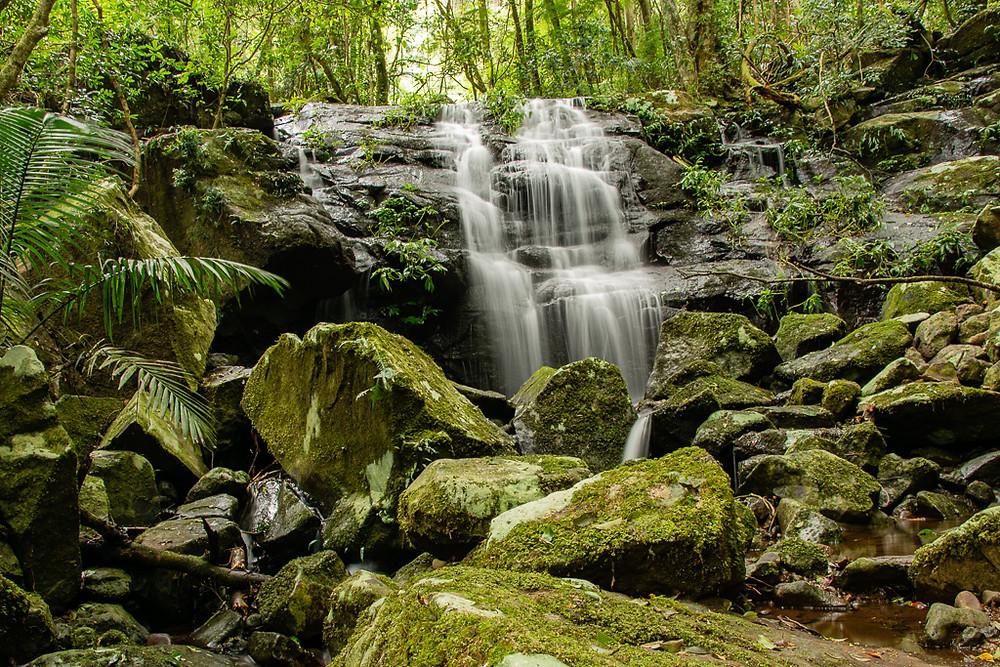 Above Bahnamboola Falls