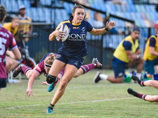 QLD Premier Rugby - Bond Uni v Uni of QLD - Womens