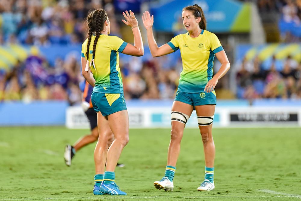 Charlotte Caslick, Alicia Quirk (Australia)