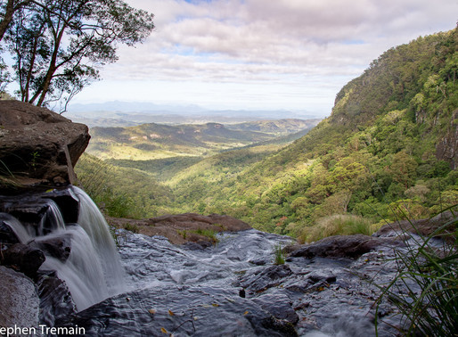 Morans Falls - Lamington National Park