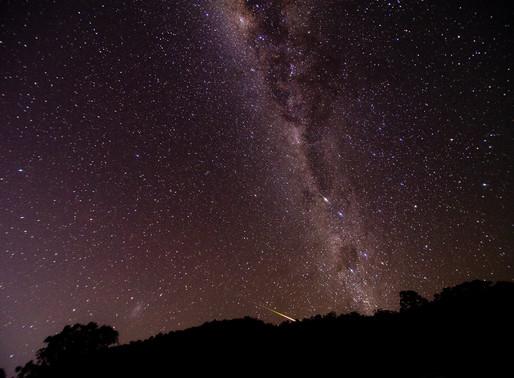 Astrophotography - Eta Aquariids + Milky Way