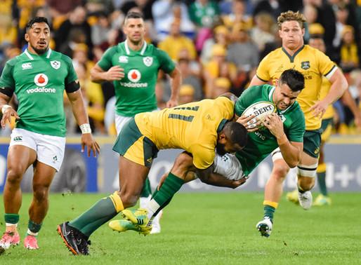Wallabies Break Ireland's Winning Streak