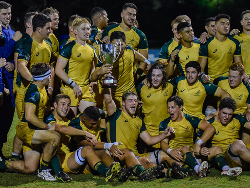 Junior Wallabies Win Oceania U20s Championship