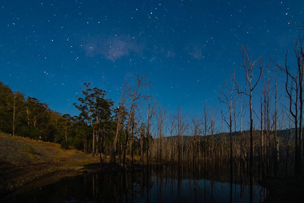 Pine Creek Rd (ISO 400, 16mm, f/2.8, 30 sec)