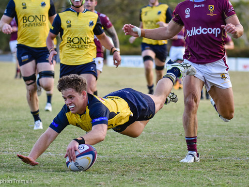 QLD Premier Rugby - Bond Uni v Uni of QLD