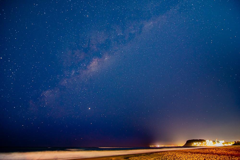 Burleigh Heads Milky Way