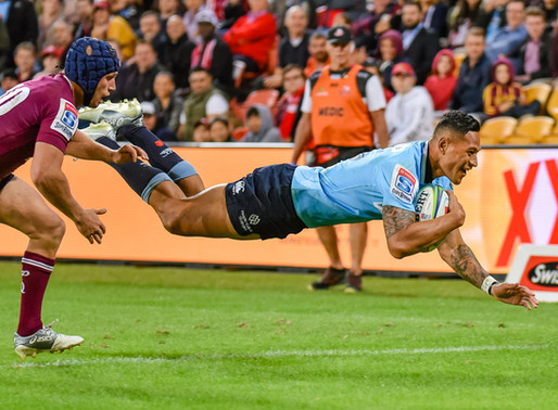 Waratahs Win in Try-fest