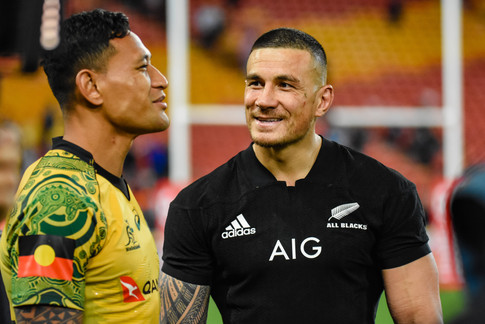 Israel Folau and Sonny Bill Williams