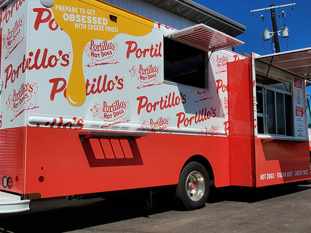 Portillo's Hot Dogs Food Truck